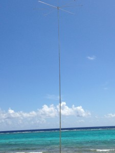 F1 Designs 40 meter Vertical