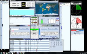 Screen Layout from CQWW SSB